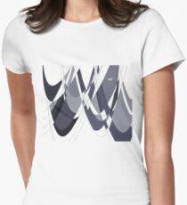 Intertwined #minimal #design #kirovair #decor #buyart Women's Fitted T-Shirt