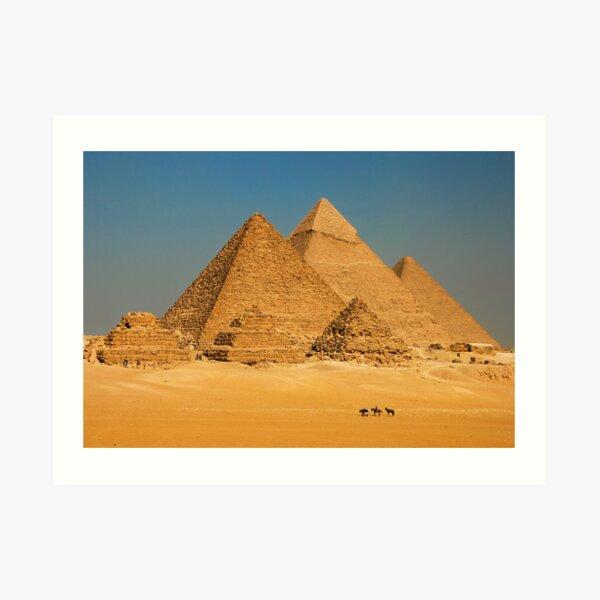 Cairo, Egypt. Art Print