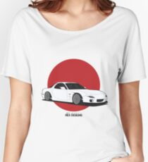 Mazda RX7 (Rising Sun) Women's Relaxed Fit T-Shirt