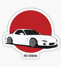 Mazda RX7 (Rising Sun) Sticker