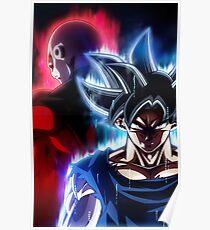 Ultra Instinct Goku and Jiren [BEST QUALITY] Poster