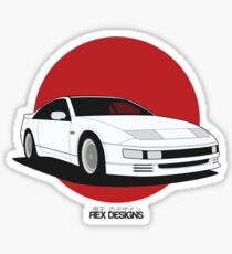 Nissan Fairlady 300ZX Z32 (Rising Sun) Sticker