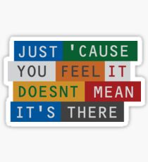Radiohead - There there Sticker
