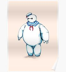 Bay Puft Marshmallow Max Poster