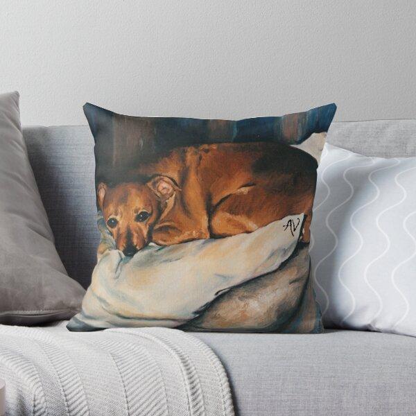 PillowPaws: Comfy Pincher Throw Pillow