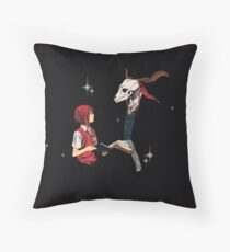 The ancient magus bride Elias Ainsworth Chise Hatori Throw Pillow