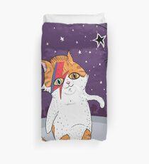 Bowie Cat Bettbezug