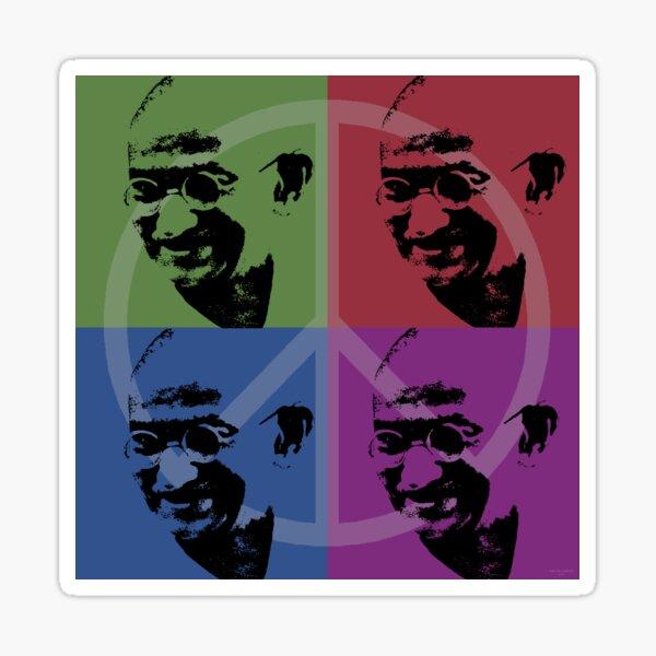Gandhi Sticker