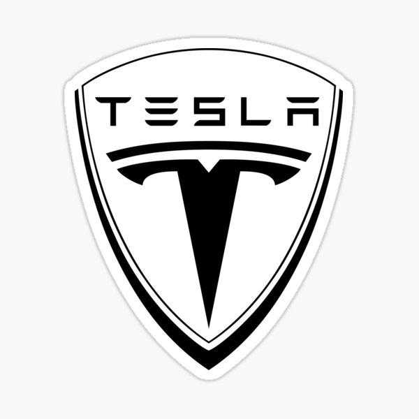 tesla motors car Sticker