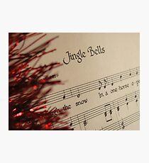 Christmas Sing-a-long Photographic Print