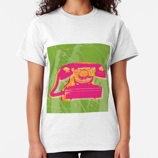 Rotary phone Pop Art print. Classic T-Shirt