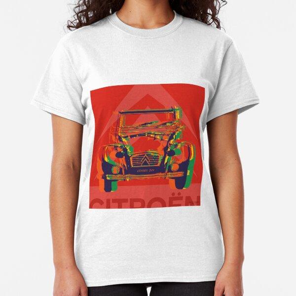 Custom pop art - Citroen 2CV Classic T-Shirt