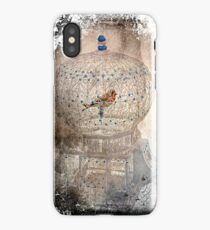 Bird in a gilded cage iPhone Case