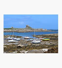 Beach, Brittany, France Photographic Print