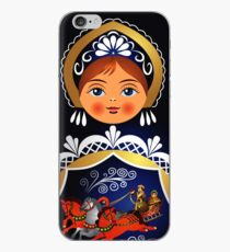 Babuschka Matrjoschka russische Puppe iPhone-Hülle & Cover