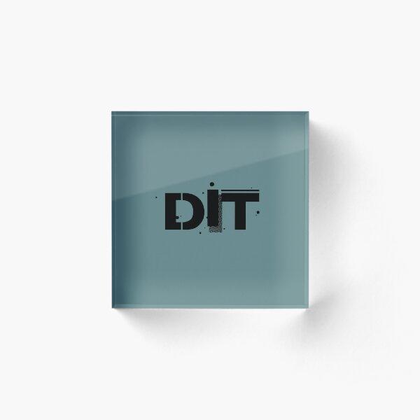 Film Crew. DIT. Acrylic Block