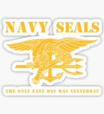 Navy SEALs Stencil Sticker