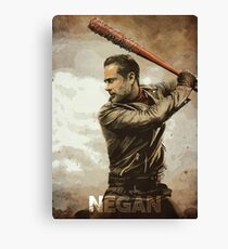 Negan Canvas Print