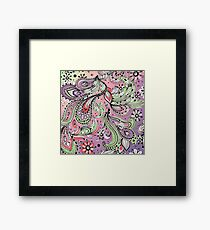 pasley pastel Framed Print