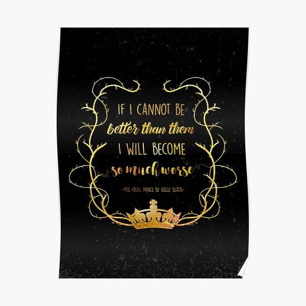 Citation livresque - Le prince cruel (Holly Black) Poster