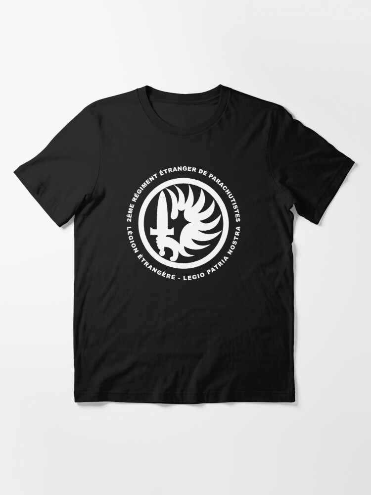 Alternate view of French Foreign Legion 2 REP Essential T-Shirt