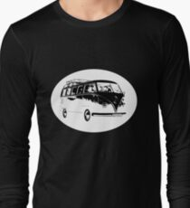 Camper Oval White Long Sleeve T-Shirt