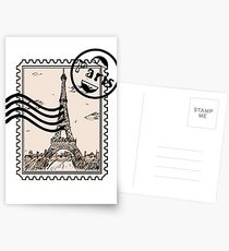 Paris Stamp Postcards