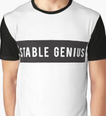 Stable Genius - Trump Collection Graphic T-Shirt