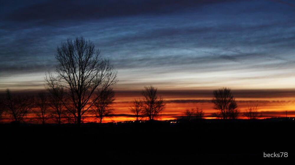 December's Sunrise  by becks78