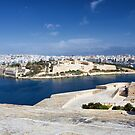 Manoel Island and Sliema by Kasia-D