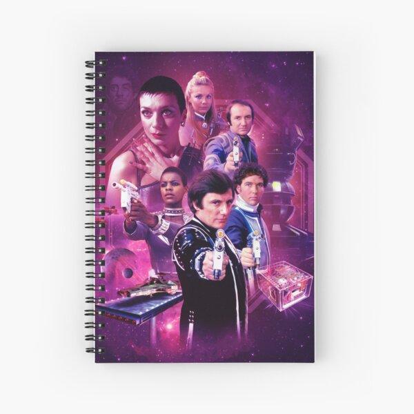 Blake's 7 Series 4 Montage Spiral Notebook