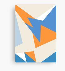 Jordan VII Pacific Blue Canvas Print