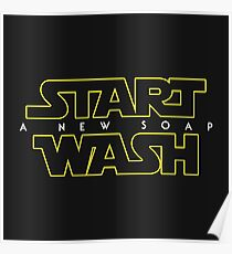 Start Wash — A New Soap Poster