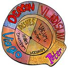 What We Do in the Shadows Chore Wheel by Madara Mason
