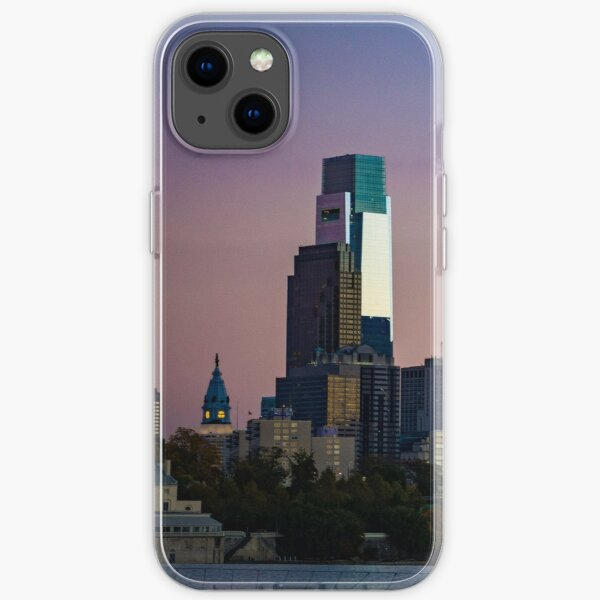 Philadelphia Skyline iPhone Soft Case
