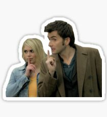 Doctor and Rose Tyler Sticker