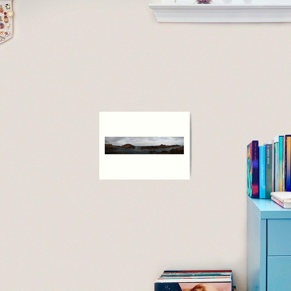 Canal Rocks panorama Art Print