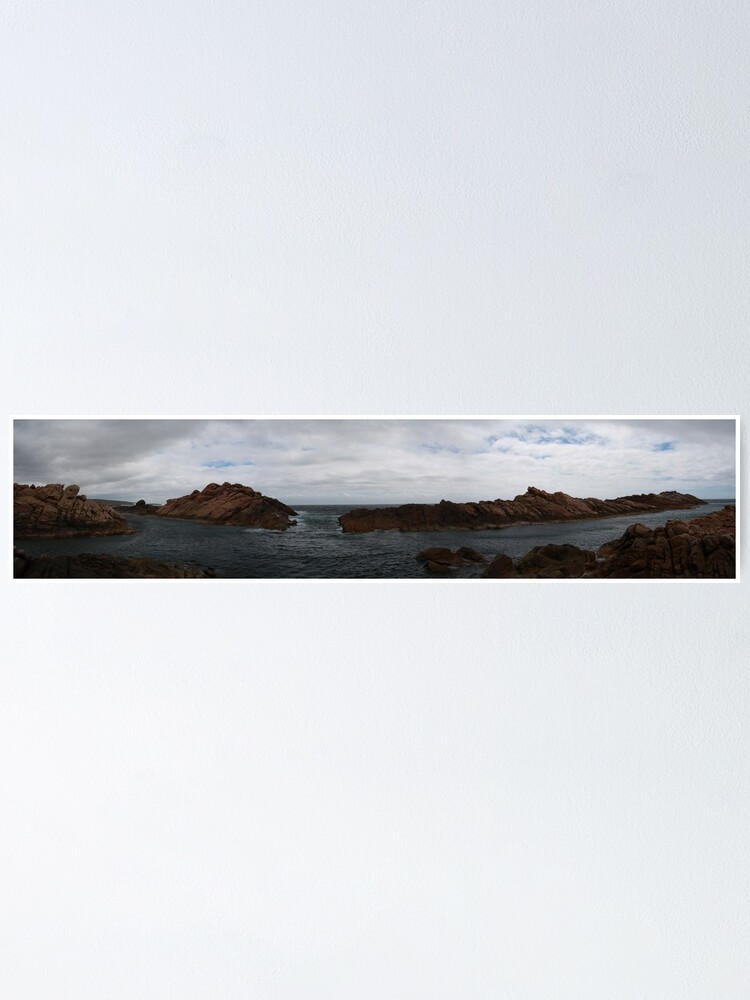 Alternate view of Canal Rocks panorama Poster