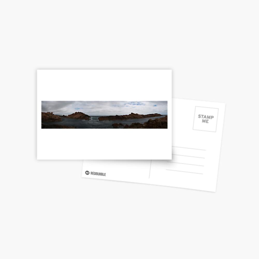 Canal Rocks panorama Postcard