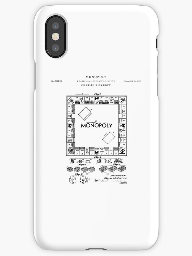 Vinilos y fundas para iphone monopoly patent drawing blueprint de monopoly patent drawing blueprint de vintago malvernweather Choice Image