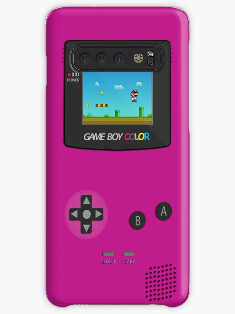 more photos 2f860 65f29 'Nintendo Game Boy Super Mario Girly' Case/Skin for Samsung Galaxy by  CroDesign
