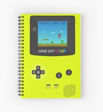 Nintendo Game Boy Super Mario Girly Spiral Notebook
