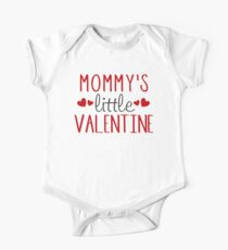 Trending Mommy's Little Valentine T shirt One Piece - Short Sleeve