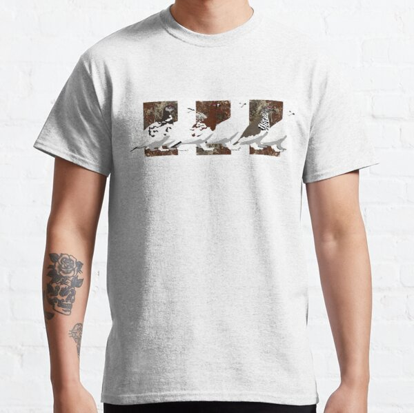 Ptarmigan of the World (no text) Classic T-Shirt