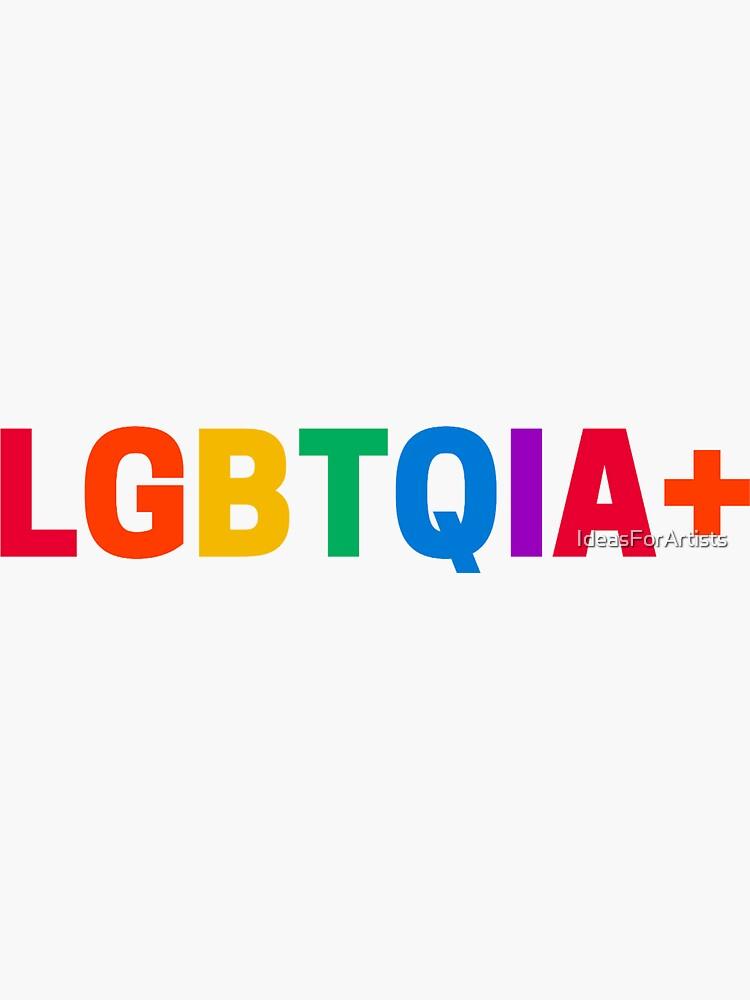 LGBTQIA+ by IdeasForArtists