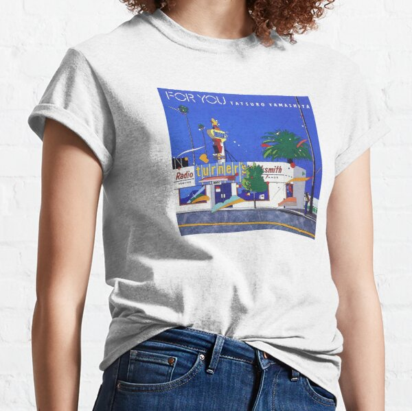 For You (1982) | Tatsuro Yamashita Classic T-Shirt