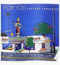 Für dich (1982) | Tatsuro Yamashita Poster