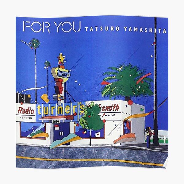For You (1982) | Tatsuro Yamashita Poster