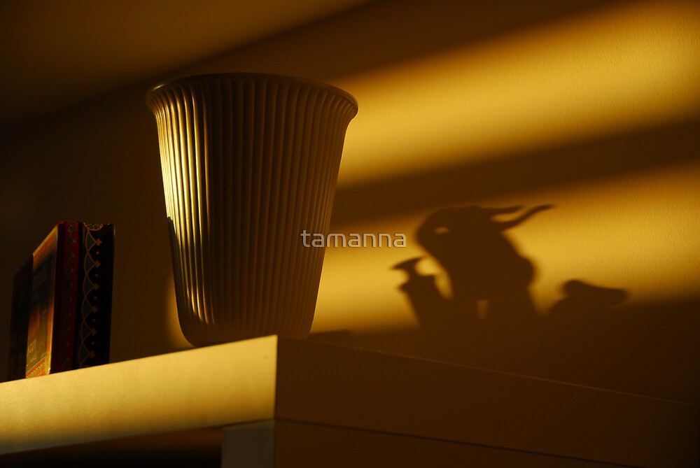 Monster in the half light by tamanna