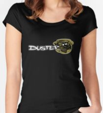 Plymouth DUSTER Women's Fitted Scoop T-Shirt